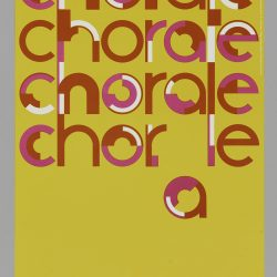University Chorale Concert Poster