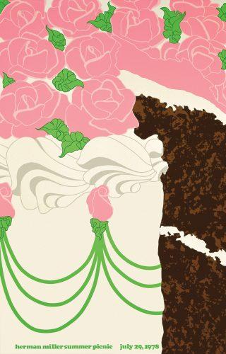 Cake Picnic Poster