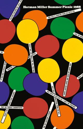Lollipops Picnic Poster