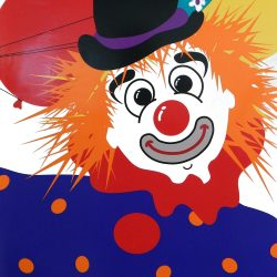 Clown Picnic Poster