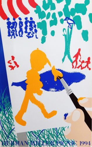 Painting Picnic Poster