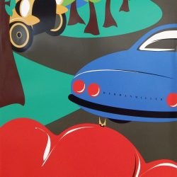 Cars Picnic Poster