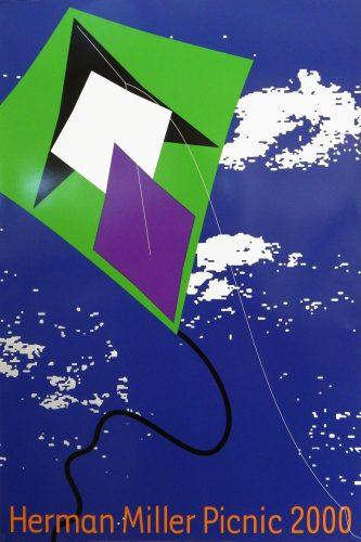 Kite Picnic Poster
