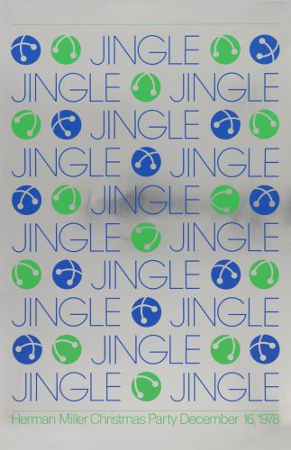 Jingle Christmas Party Poster