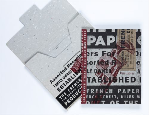 French Writing Tablet and Packaging