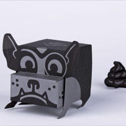 French Paper Mini Mascot