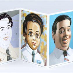 Jerry French Portrait Postcards
