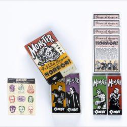 French Rayon Monster Halloween Kit