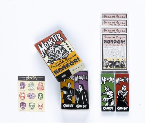 French Rayon Monster Halloween Kit